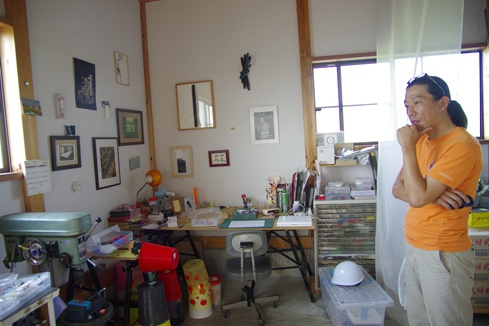 jun konishi in his studio.jpg