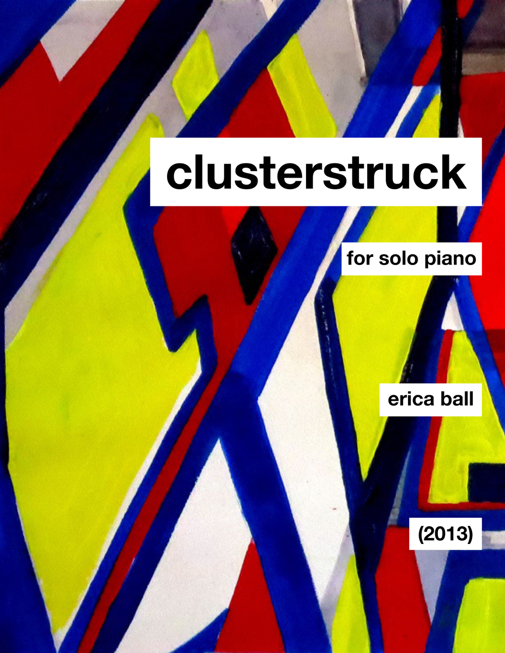 clusterstruck  - for piano