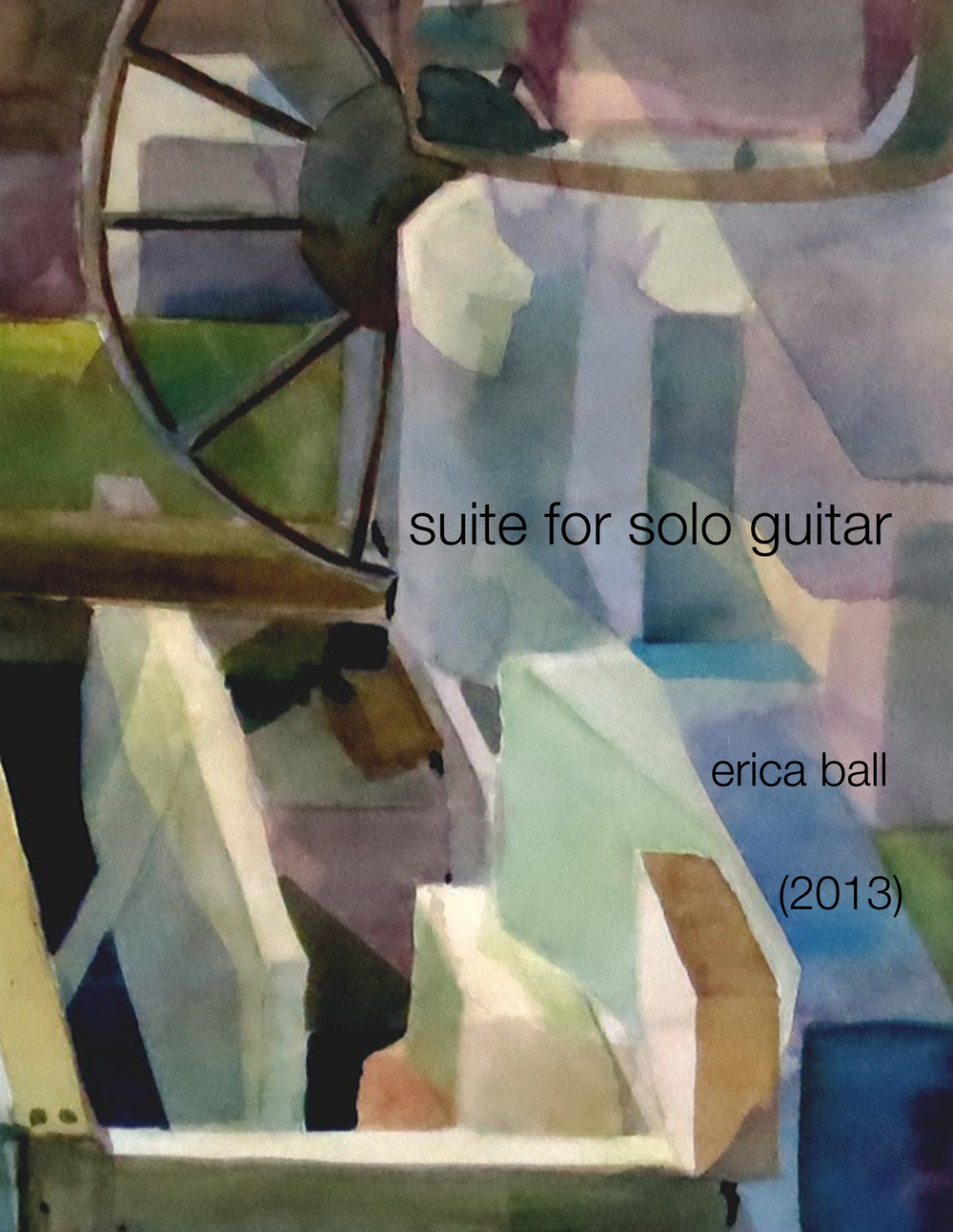 suite for solo guitar