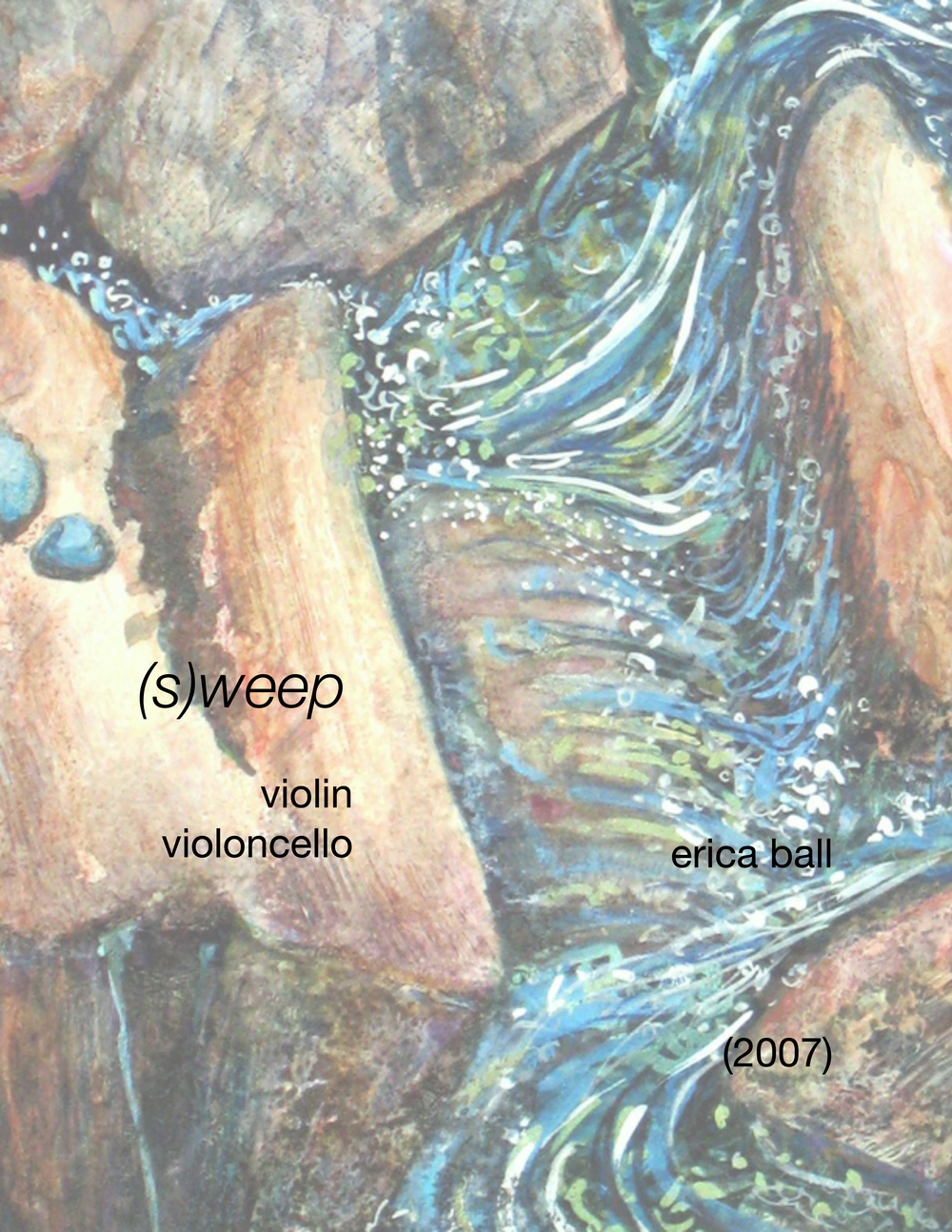 (s)weep  - for two violins or violin and violoncello