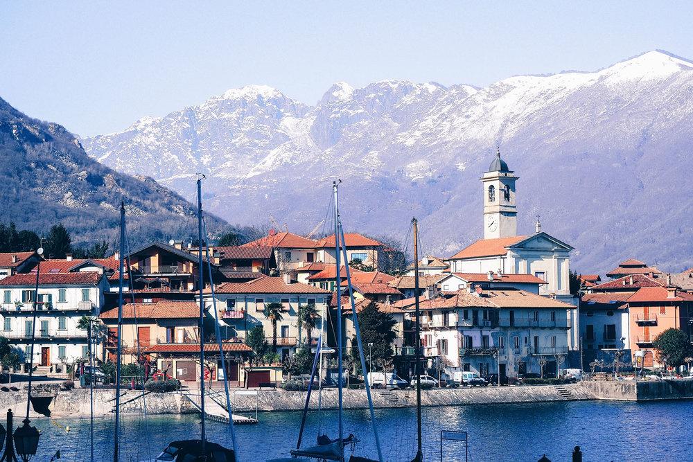 Lac Majeur - Piémont, Italie
