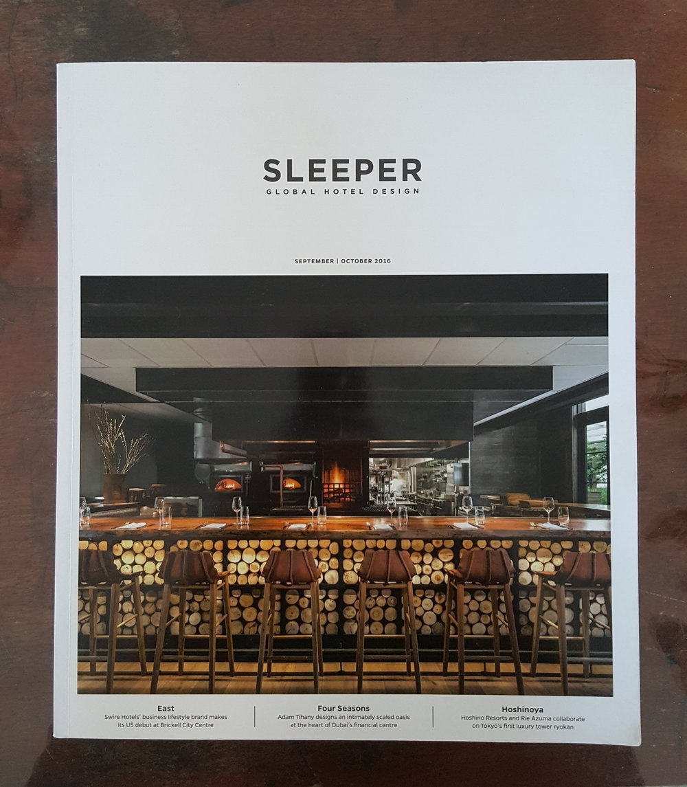 Sleeper Magazine, front cover- Oct 2016