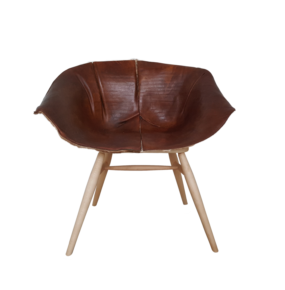 Leather Arch Chair