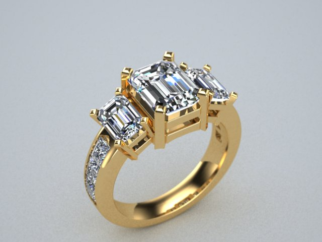 3 stone engagement ring emerald cut 4.jpg