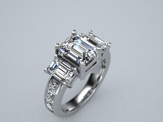 3 stone engagement ring emerald cut 2.jpg