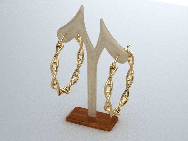 DNA hoop earings yellow.jpg
