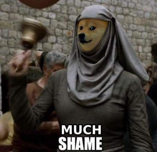 Best Doge picture I have seen that encapsulates this scene so perfectly! - Picture from FB