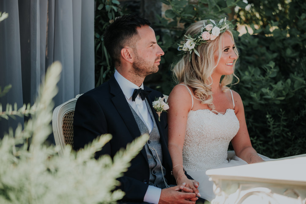 "Andrew & Emma // 29.05.18 // Video Plus   ""We love it! Its class! Really captures our day, all the laughs, all the hugs! All the guests having fun as well as us!  You guys did a great job! Thank you!"""