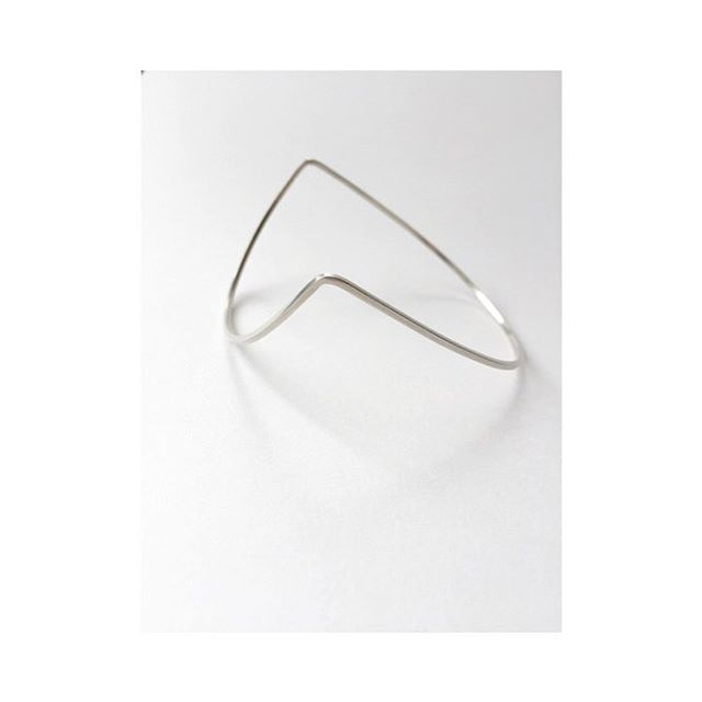 "Stirling silver ""Lina"" bangle from Megan Collins 