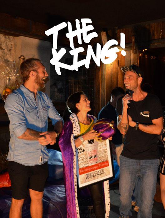 Winners - Hemingway's Manly - Cafe Coffee King 2016.w