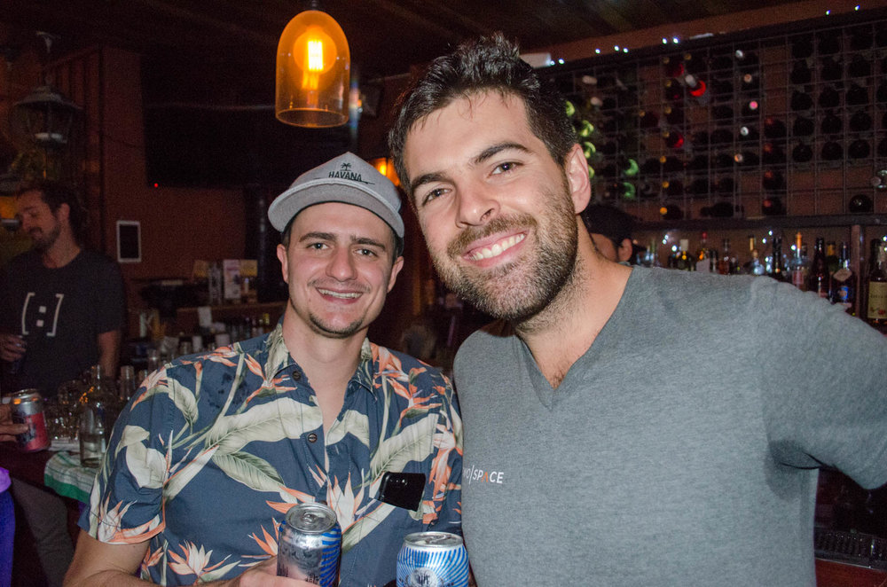 Matt from Havana Beach with a member of the TwoSpace