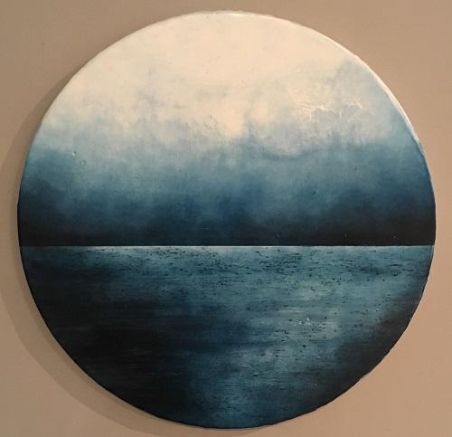 Tricia Trinder - Horizon Series No 20 Encaustic and dry pigment on board.jpg