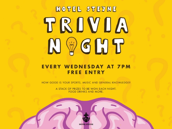 Hotel Steyne Trivia