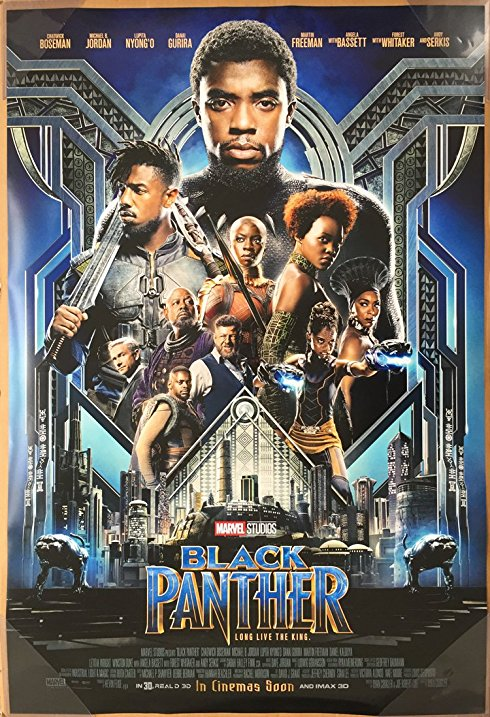 Black Panther  (M) - 7:30pm  Saturday 16 February
