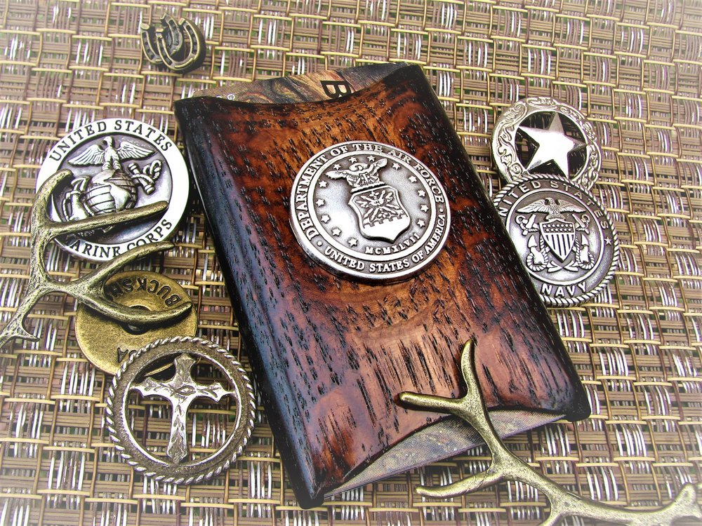 Handcrafted Wallets & Money Clips