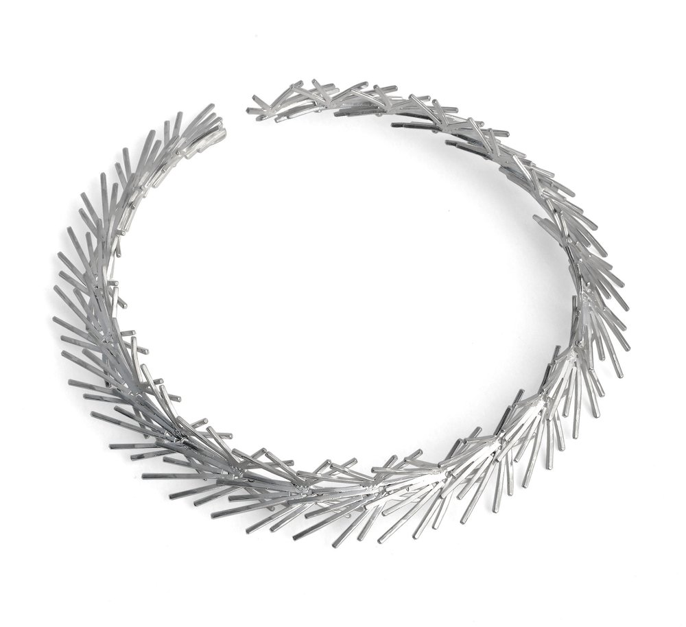 Wreath Necklace |  Silver 925
