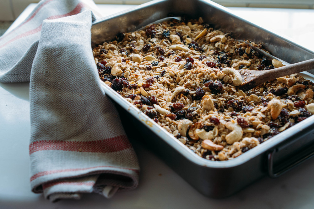 quinoa&oatgranola