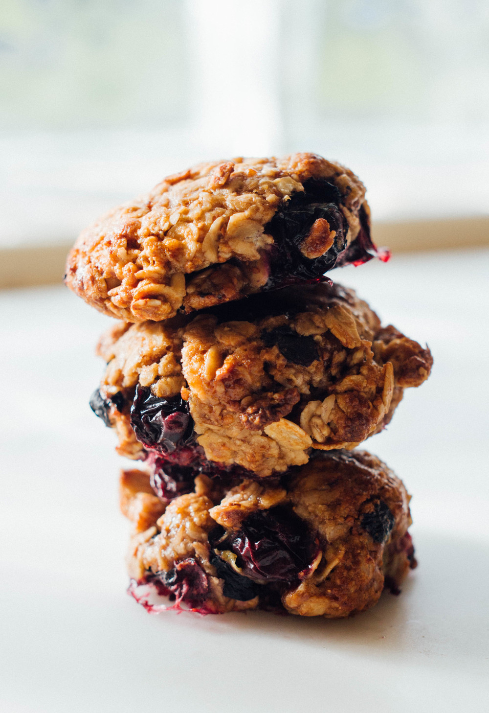 Blueberry+Oat+Cookies