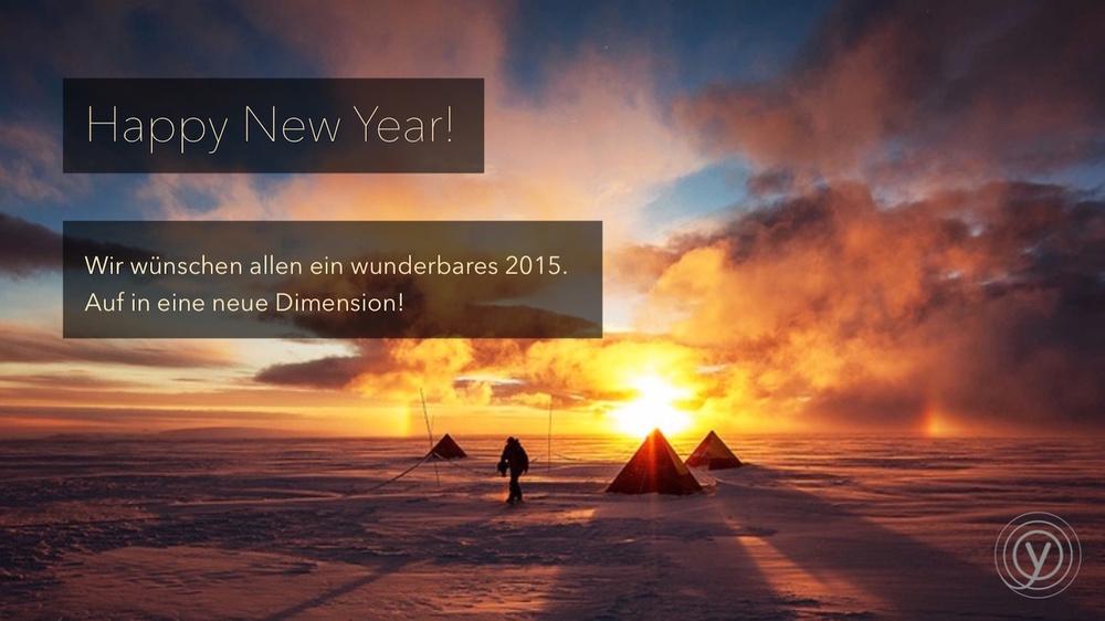 Happy New Year! | generation y wünscht allen ein wunderbares 2015.