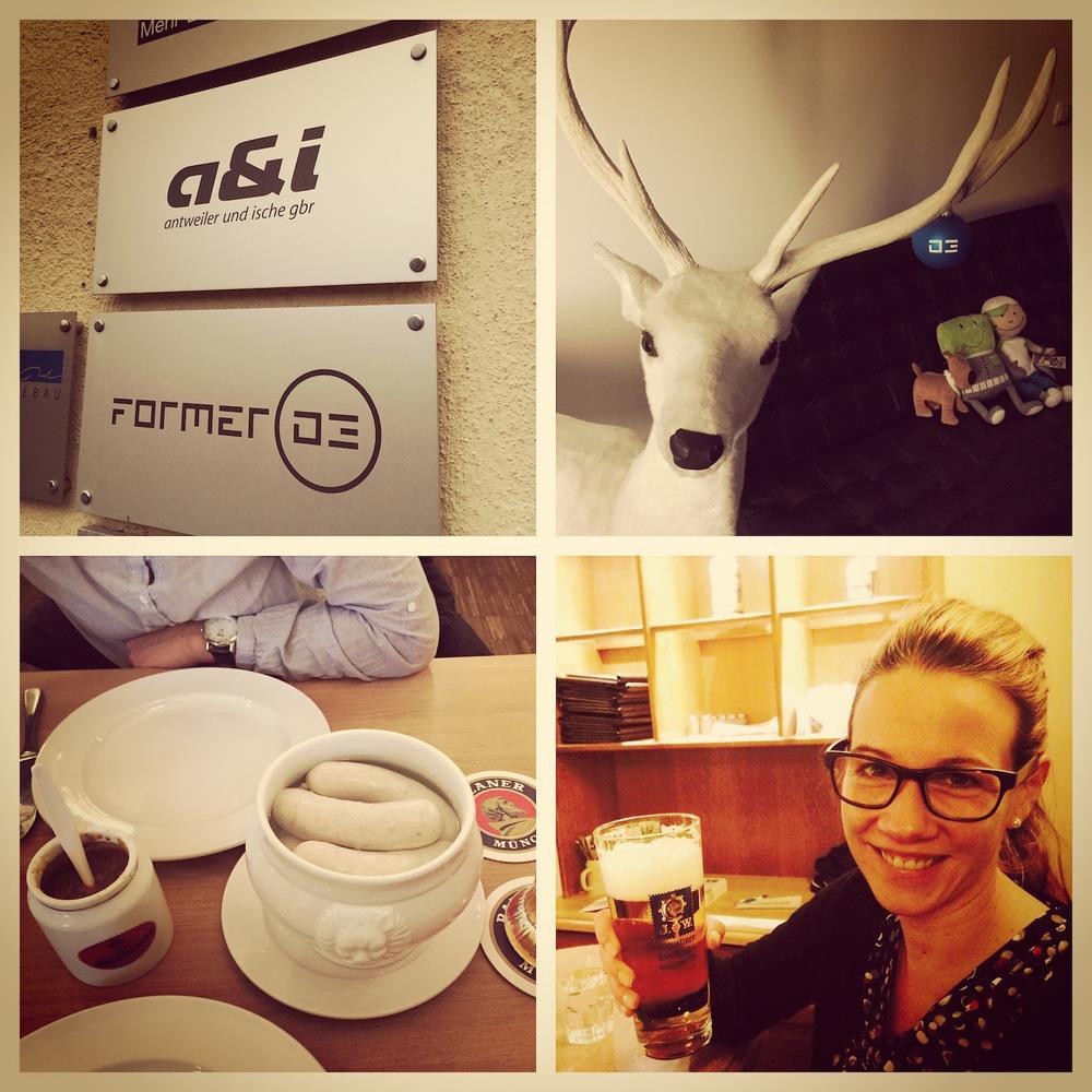 Die Konzept-Fee zu Besuch bei unserem Partnernetzwerk a&i / former 03 in München.