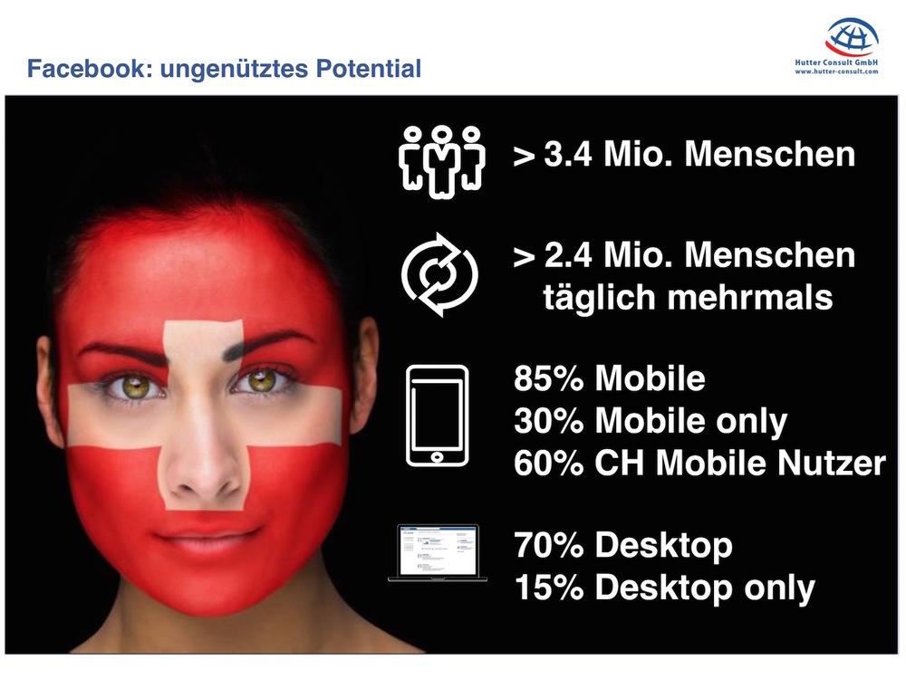 Zahlen und Fakten zu Facebook in der Schweiz (Thomas Hutter)