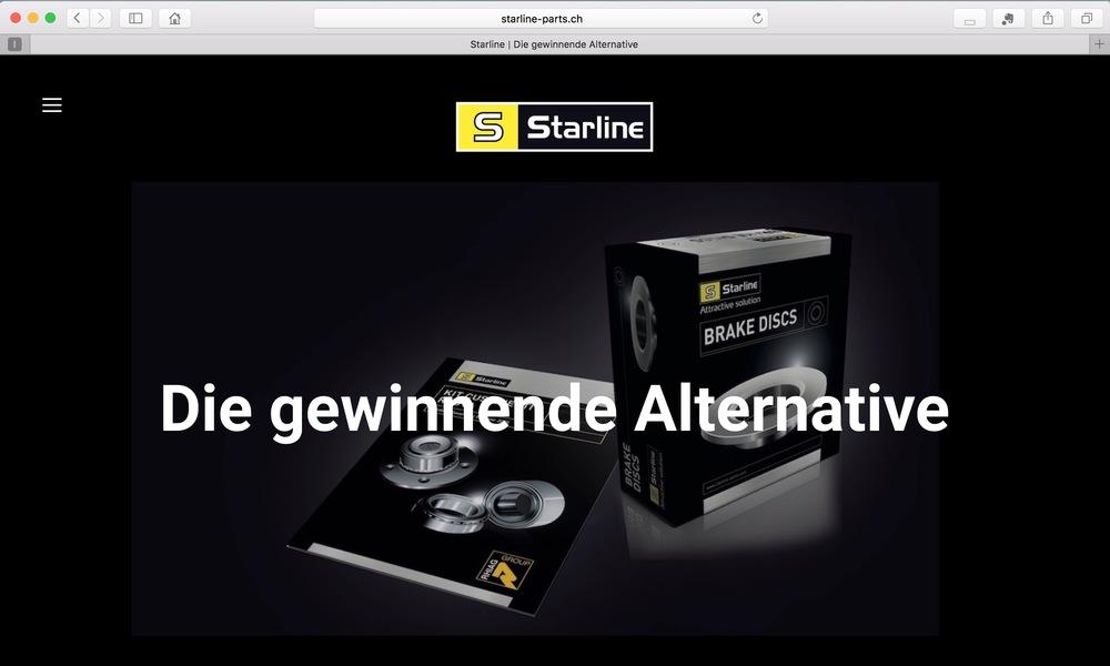 Starline - Qualitäts-Autoteile mit Star- und Sparpotential | starline-parts.ch