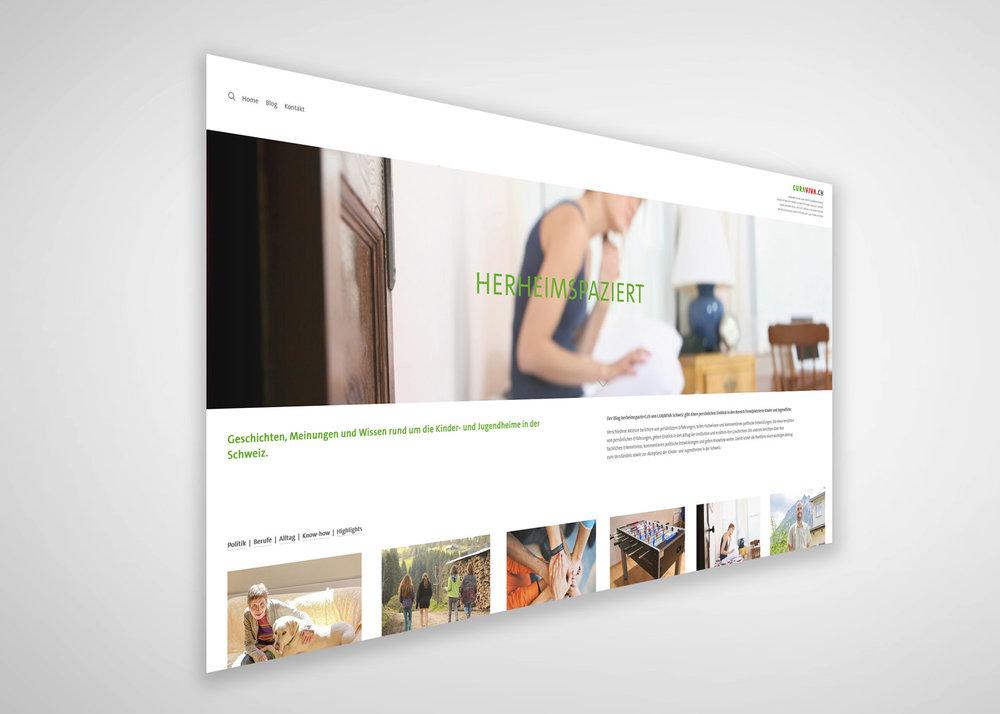 herheimspaziert.ch  mit wöchentlich neuen Geschichten, Meinungen und Wissen rund um die Kinder- und Jugendheime in der Schweiz.