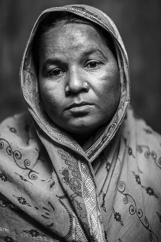 Saleha Begum, wife of Alamgir Hossain
