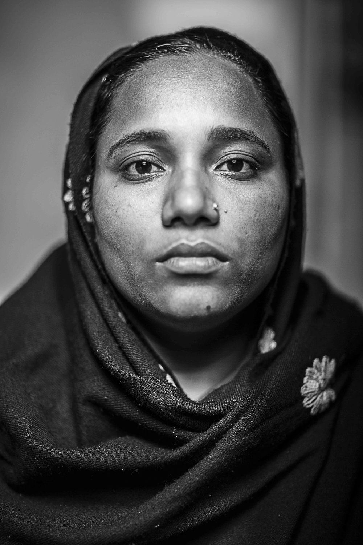 Jasmine Begum, wife of Jamadul Islam.