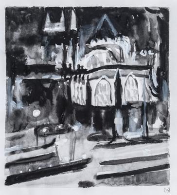 Window on Westminster Abbey