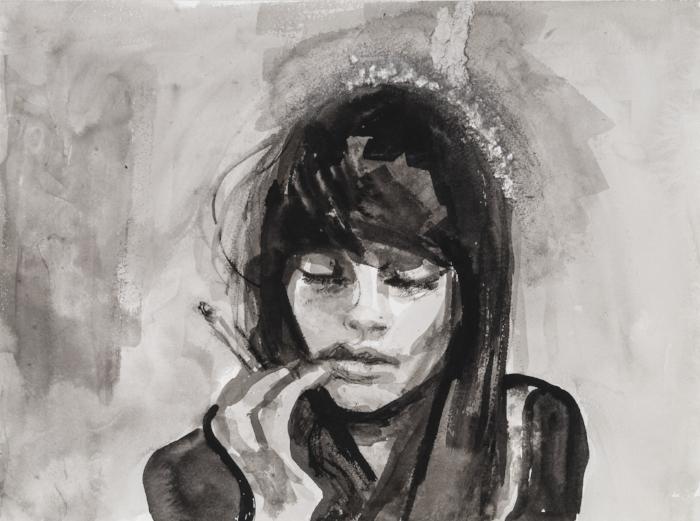 Woman, Smoking