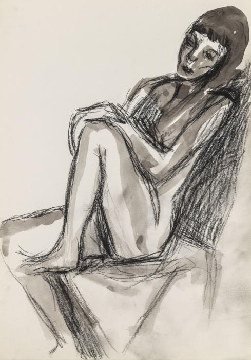 Self Portrait, Sitting