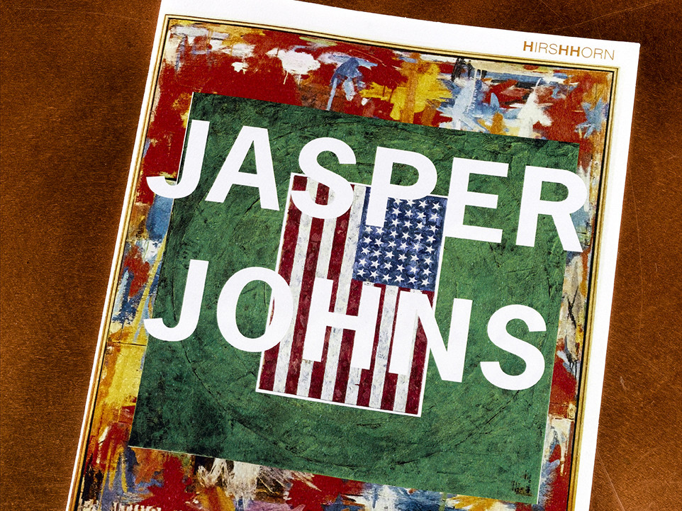 JASPER JOHNS MUSEUM BOOKLET - Chris Davidson Senior, Watkins College of Art, Design & Film