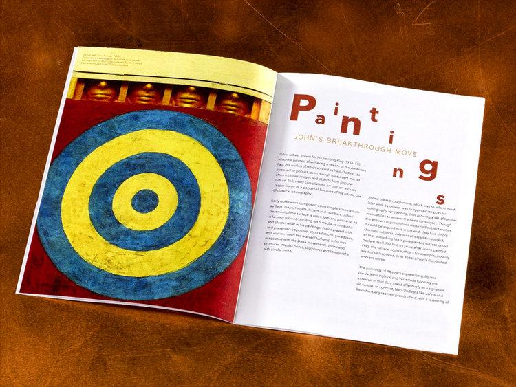Jasper+Johns+brochure+design+paintings.jpg