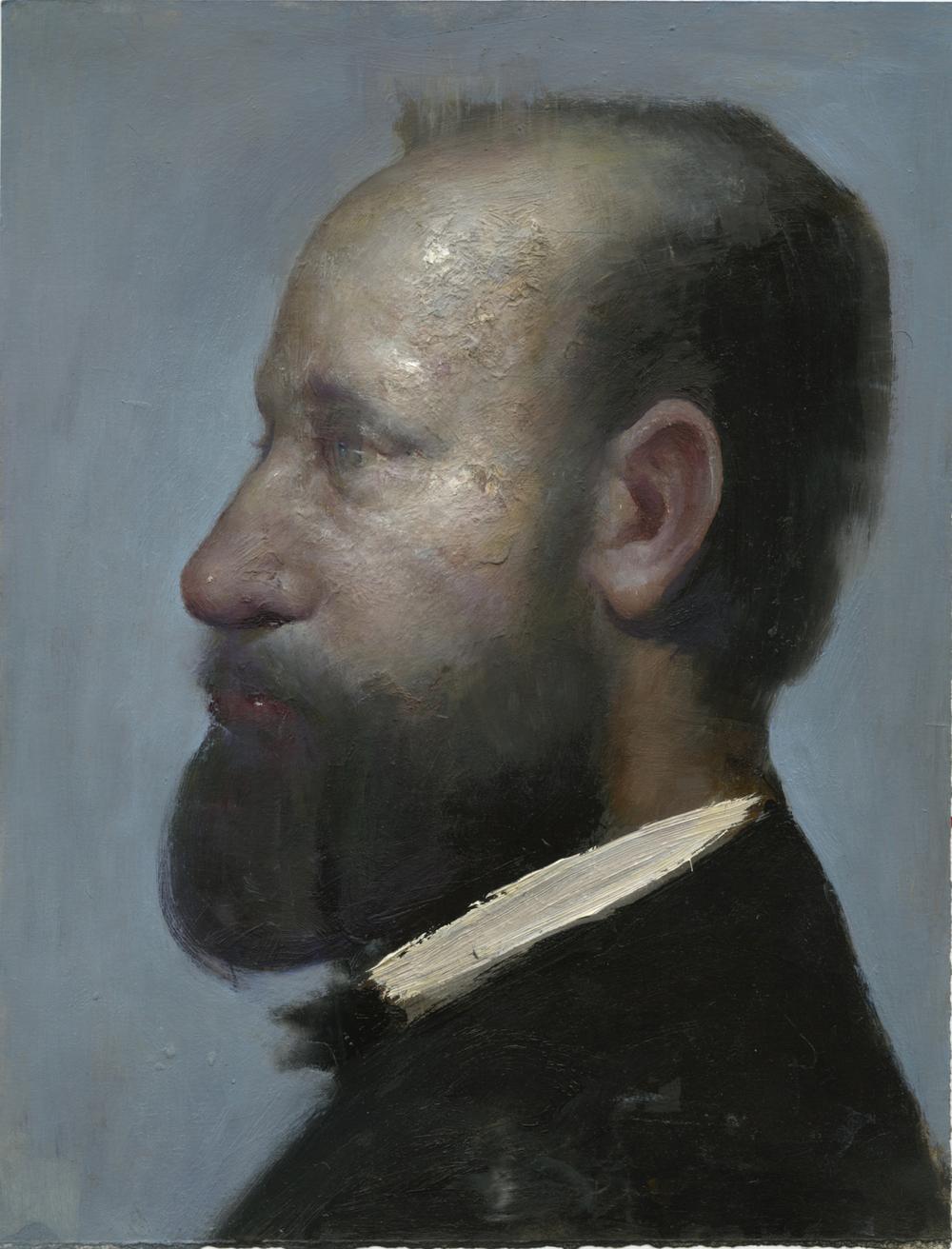 portrait of a man after degas