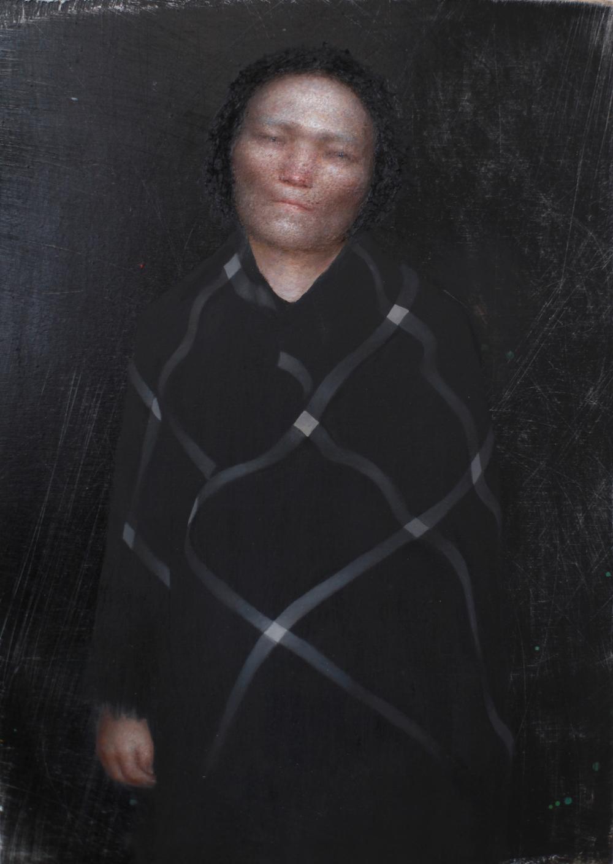 Pregnant woman (after Kathe Kollwitz)