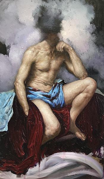 a man of constant doubt (after Velazquez)