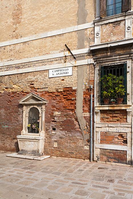 Campiello San Antonio, Cannaregio, Venedig 2012