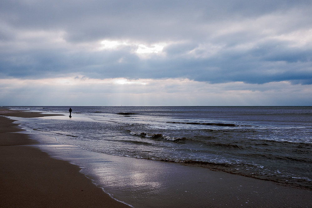 Abendspaziergang, Sylt 2009