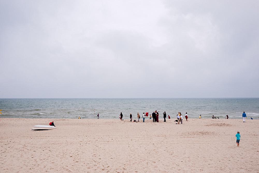 Hochzeit am Strand, Sylt 2011