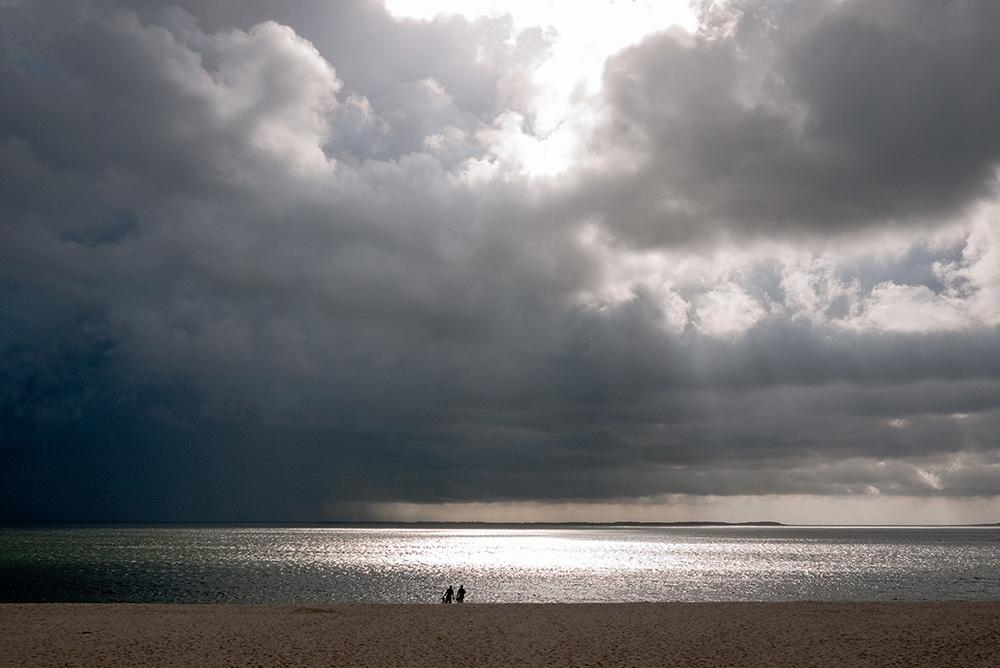 Paar am Strand, Sylt 2011