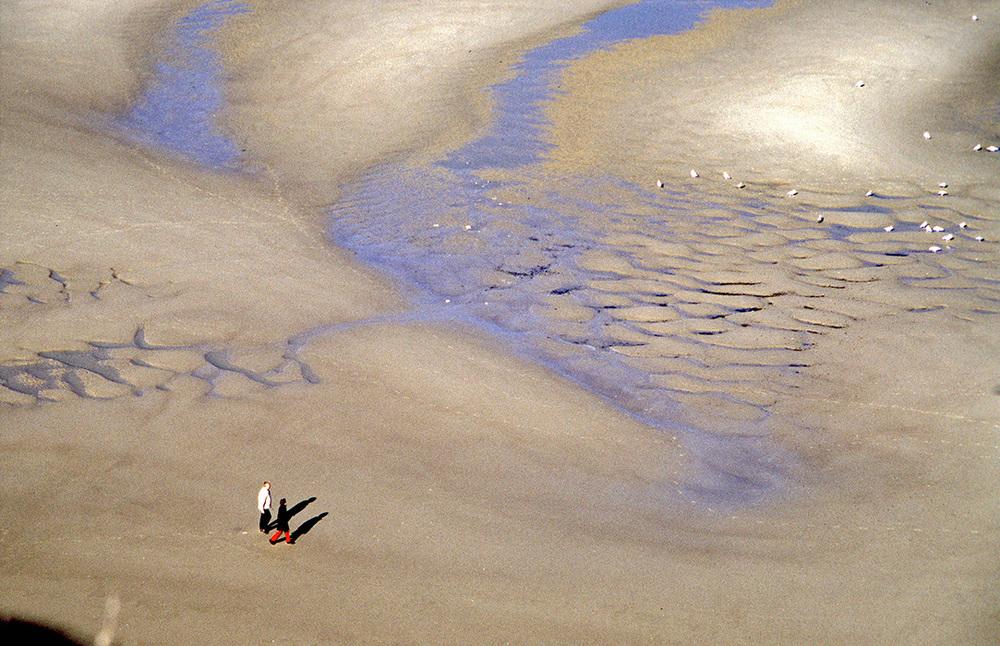 Bucht von Wissant, Pas de Calais, Frankreich 2000