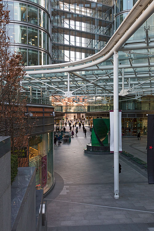 Cardinal Place, Cathedral Walk, Victoria, London 2015
