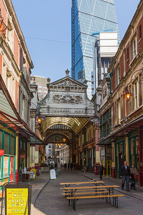 Leadenhall Market, City of London, 2016