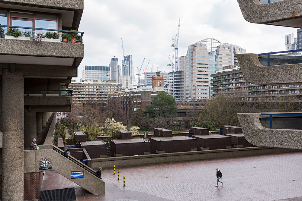 Barbican Estate, City of London, 2016