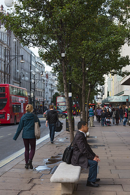 Oxford Street, Mayfair, London 2013