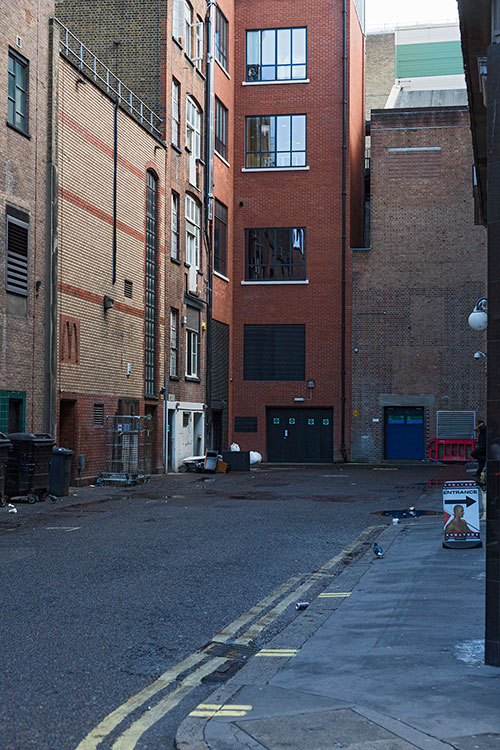 Ramillies Place, Soho, London 2013