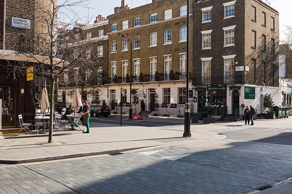 Elizabeth Street, Belgravia, London 2015