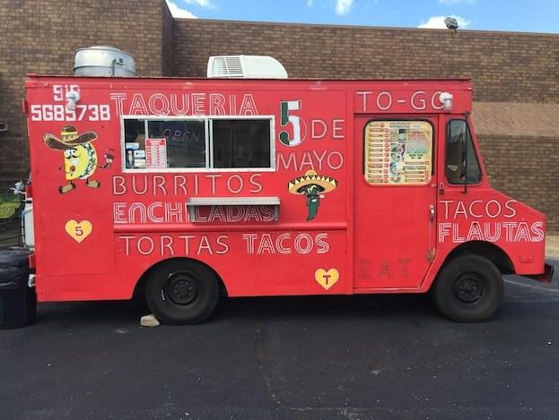 Taqueria Cinco de Mayo Food Truck // 71st & Sheridan