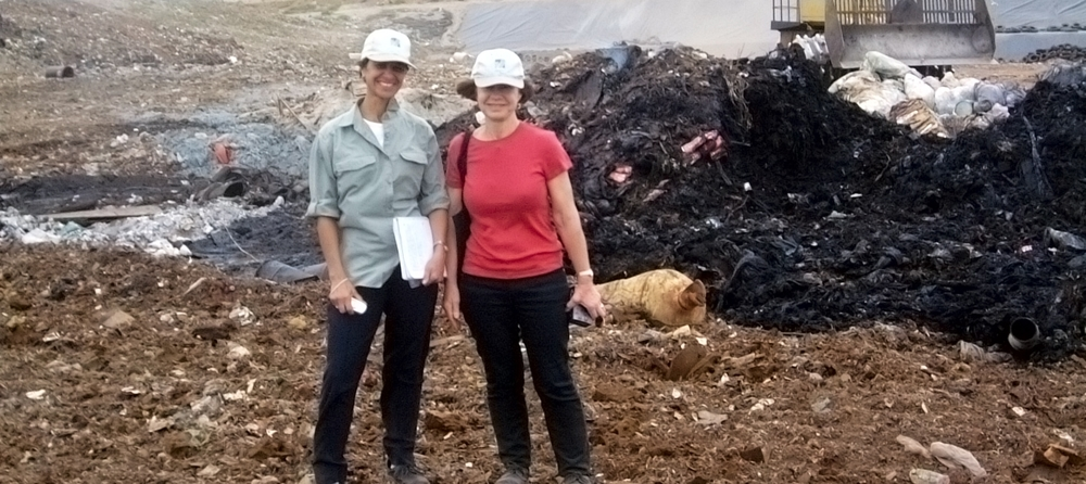 DESTROYING LANDFILL METHANE